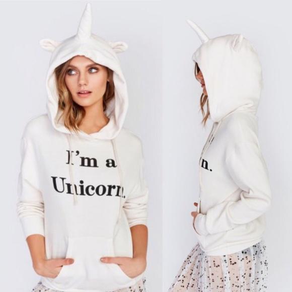 "*5/$25* ""I'm A Unicorn"" Hoodie"